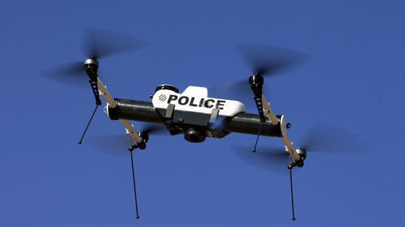 Drones, Police Video Surveillance Drone, Greenville, South Carolina